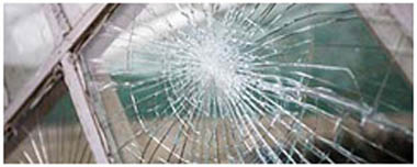 Guiseley Smashed Glass